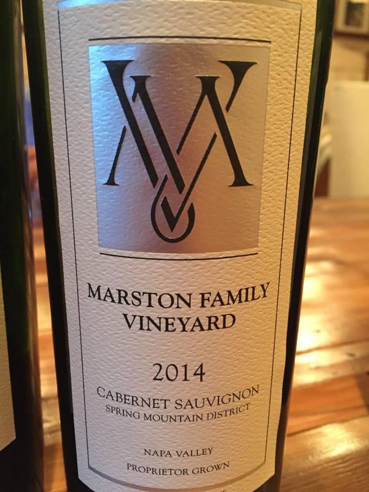 Marston Family Vineyard – Cabernet Sauvignon 2014 – Spring Mountain District, Napa Valley
