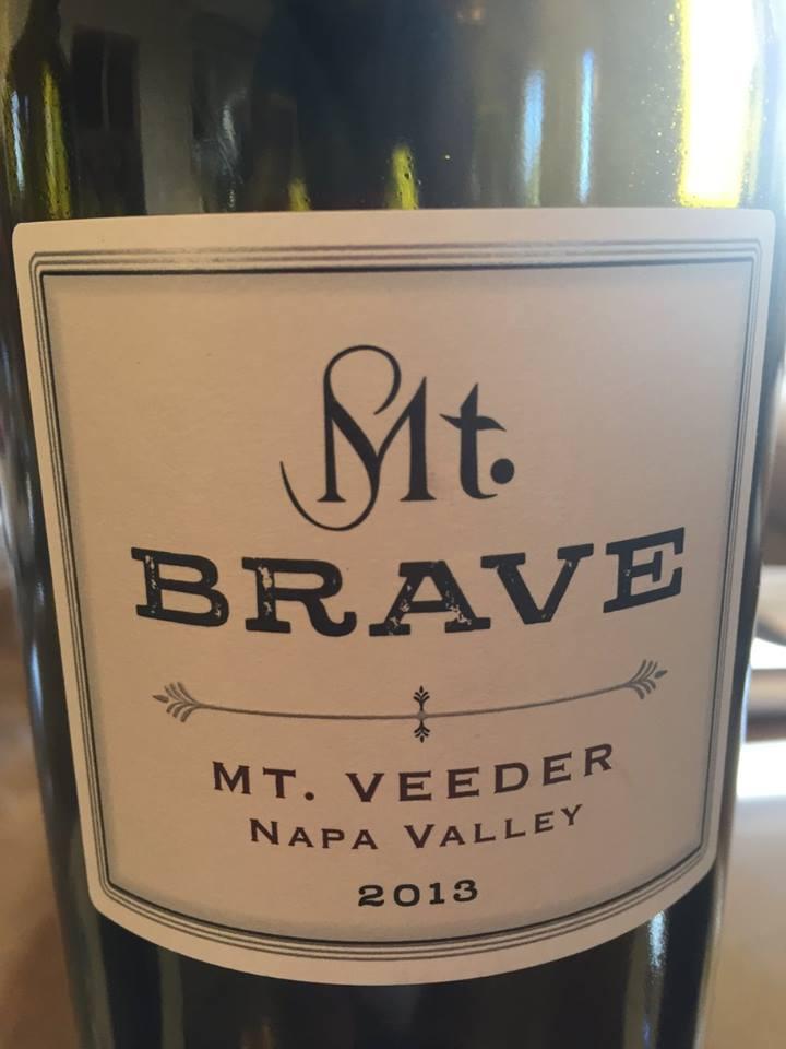 Mt. Brave 2013 – Mt. Veeder – Napa Valley