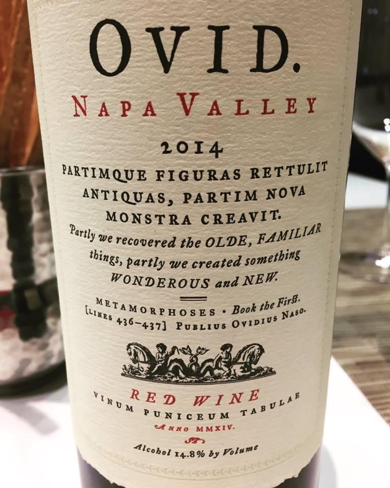 OVID 2014 – Napa Valley