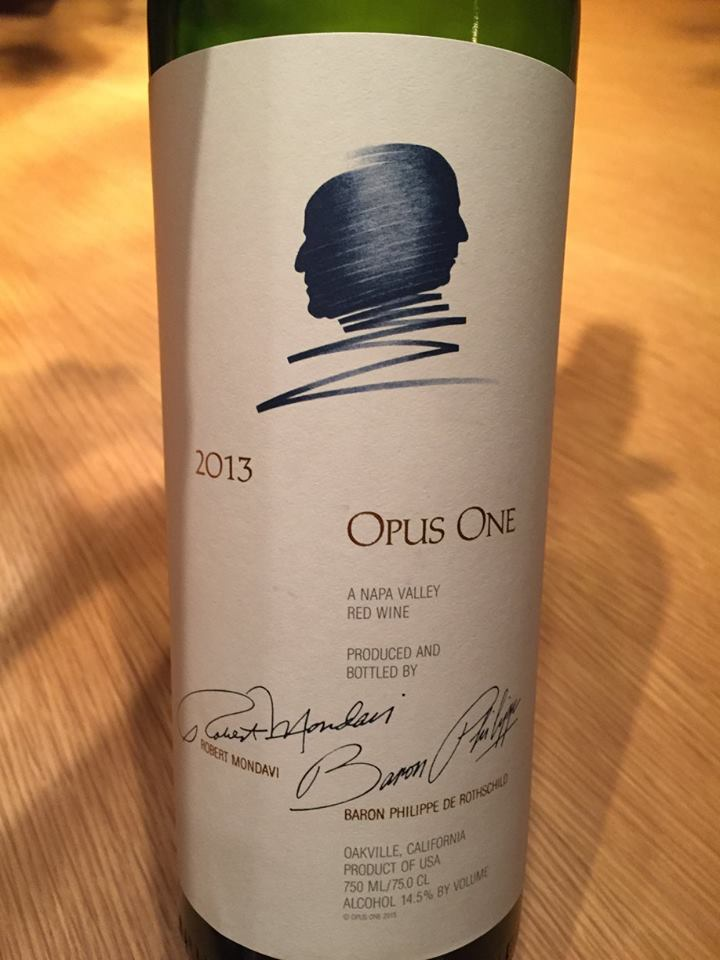 Opus One 2013 – Napa Valley