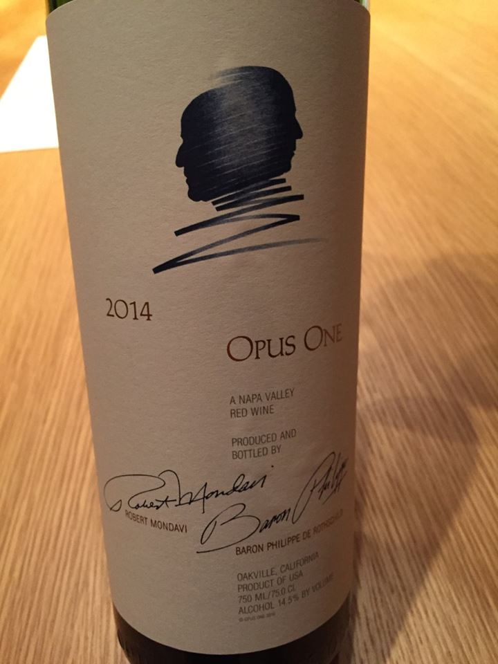 Opus One 2014 – Napa Valley