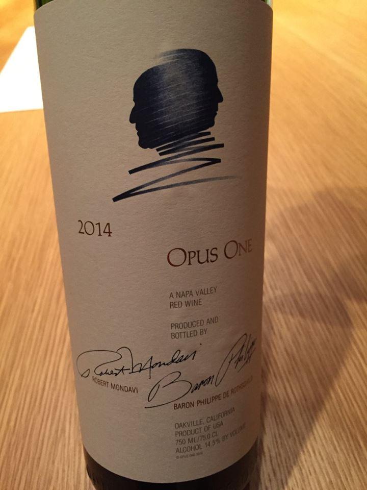 Opus One 2014 – Napa Valley