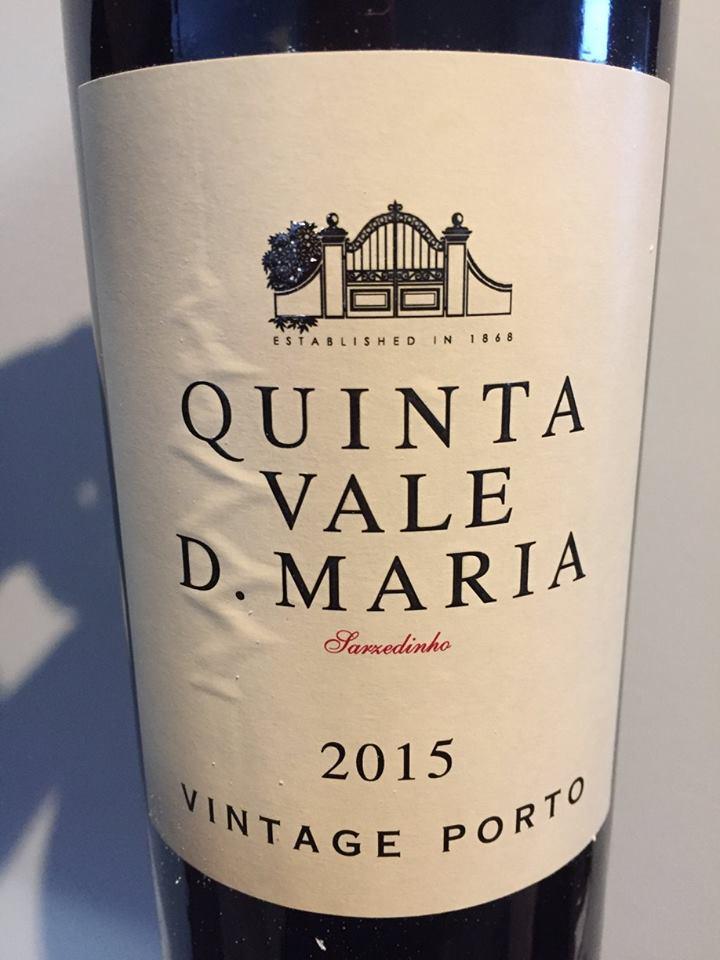 Quinta Vale D. Maria 2015 – Vintage Porto