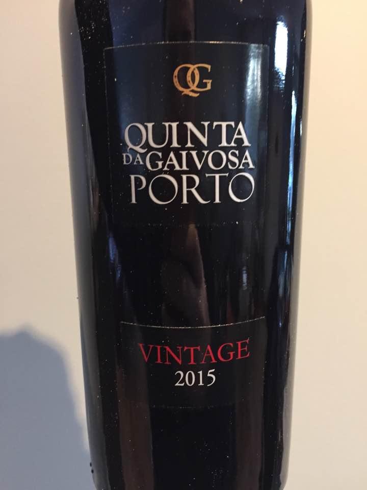 Quinta da Gaivosa – Vintage 2015 – Porto