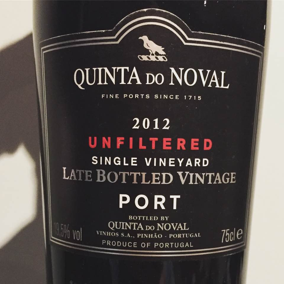 Quinta do Noval – Single Vineyard – LBV 2012 – Unfiltered – Porto