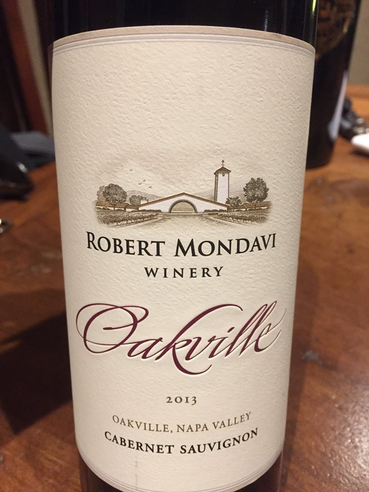 Robert Mondavi Winery – Cabernet Sauvignon 2013 Oakville – Napa valley