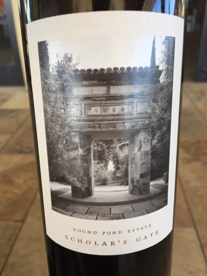 Round Pond Estate – Gravel Series – Scholar's Gate 2013 – Rutherford – Napa Valley