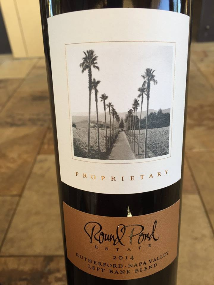 Round Pond Estate – Proprietary – Left Bank Blend 2014 – Rutherford – Napa Valley