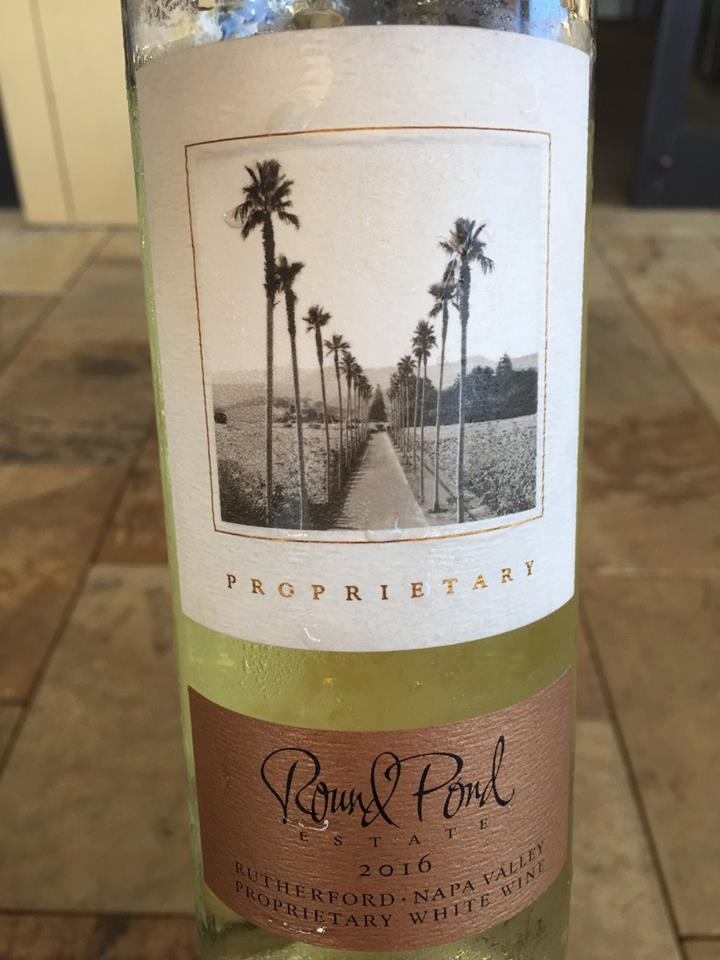 Round Pond Estate – Proprietary White Wine 2016 – Rutherford – Napa Valley
