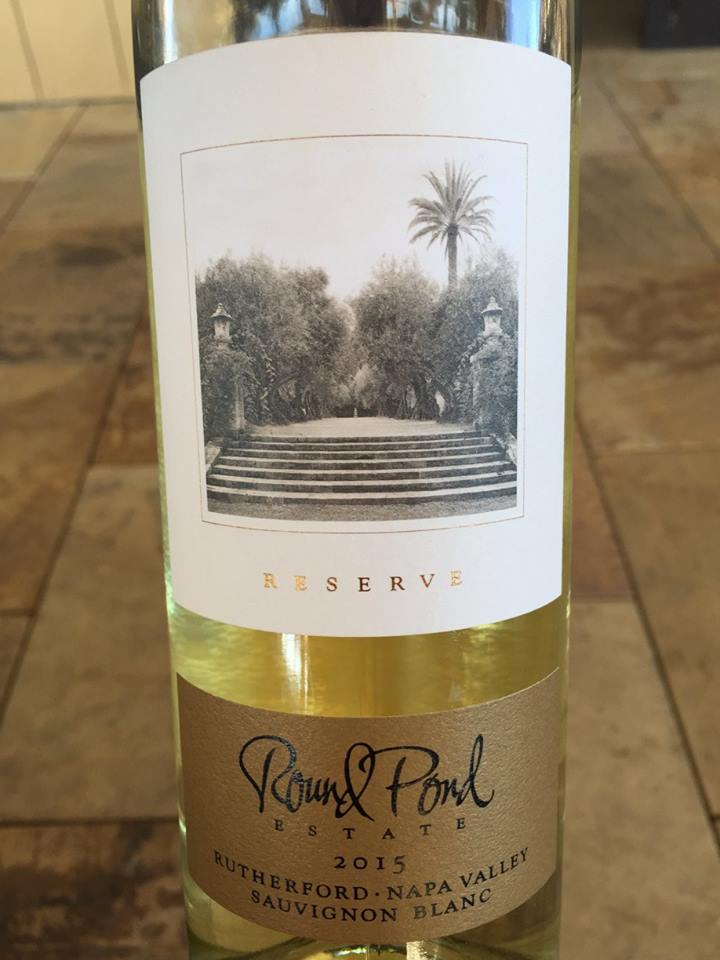Round Pond Estate – Sauvignon Blanc Reserve 2015 – Rutherford – Napa Valley