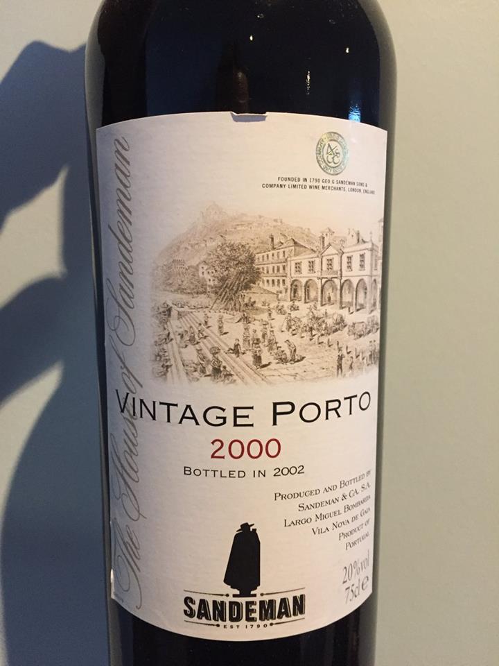 Sandeman – 2000 Vintage Porto
