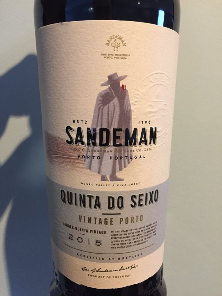 Sandeman – Quinta do Seixo 2015 – Vintage Porto
