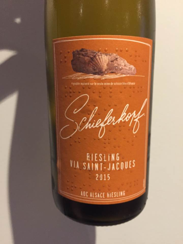 Schieferkopf – Via Saint-Jacques – Riesling 2015 – Alsace