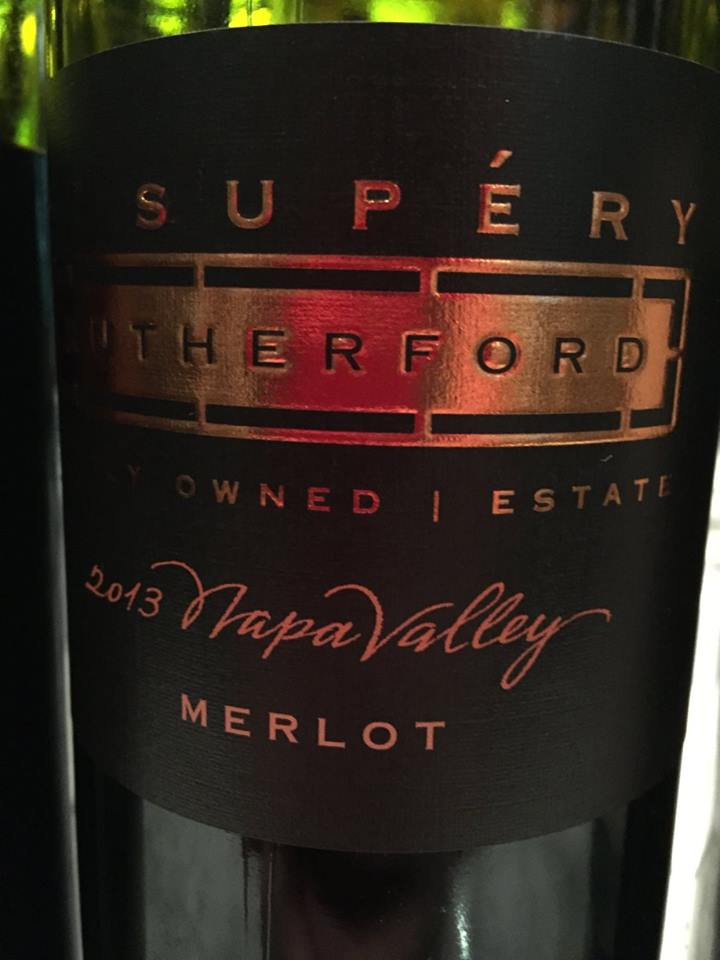 St Supery – Rutherford – Merlot 2013 – Napa Valley