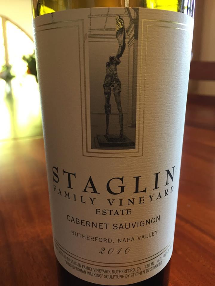 Staglin Family Vineyard – Estate Cabernet Sauvignon 2010 – Rutherford – Napa Valley