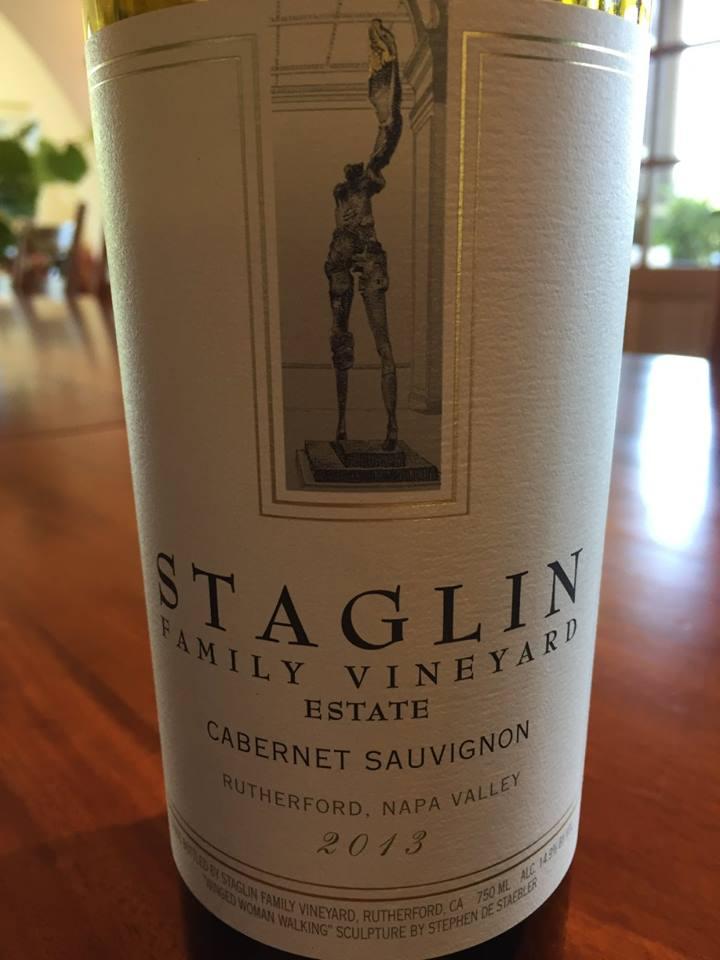 Staglin Family Vineyard – Estate Cabernet Sauvignon 2013 – Rutherford – Napa Valley