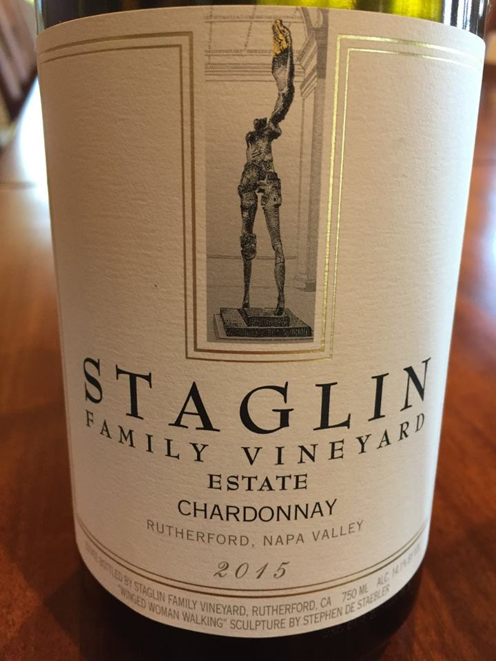 Staglin Family Vineyard – Estate Chardonnay 2015 – Rutherford – Napa Valley