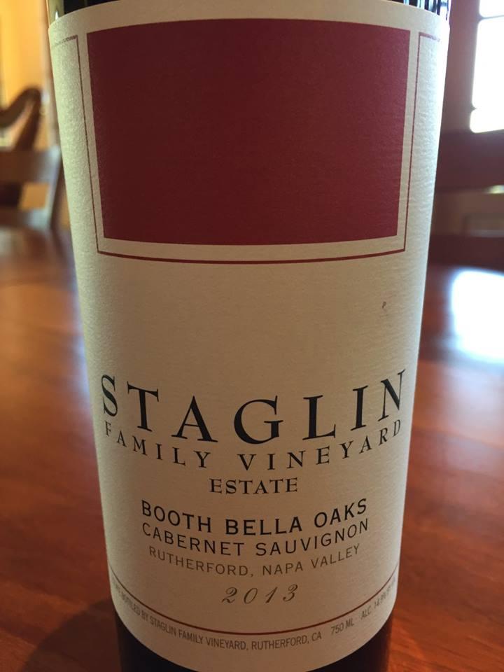 Staglin Family Vineyard Estate – Booth Bella Oaks – Cabernet Sauvignon 2013 – Rutherford, Napa Valley