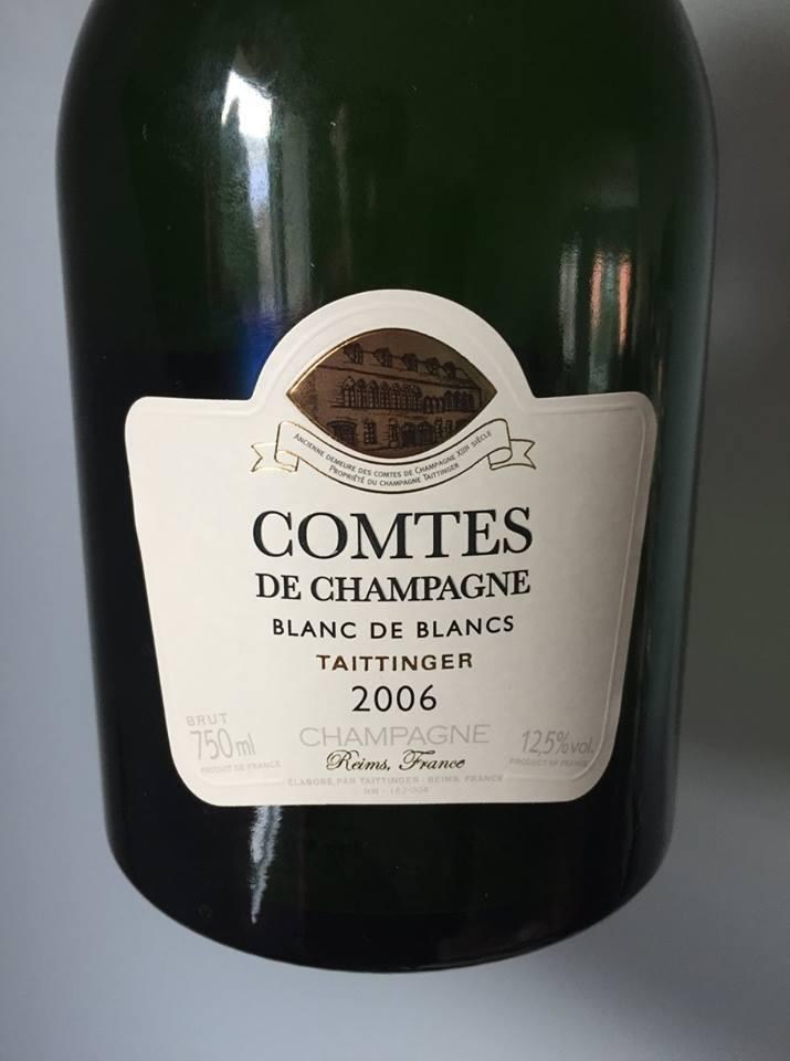 Taittinger – Comtes de Champagne – Blanc de Blancs 2006 – Champagne