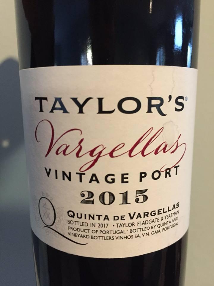 Taylor's – Quinta de Vargellas 2015 – Vintage Porto
