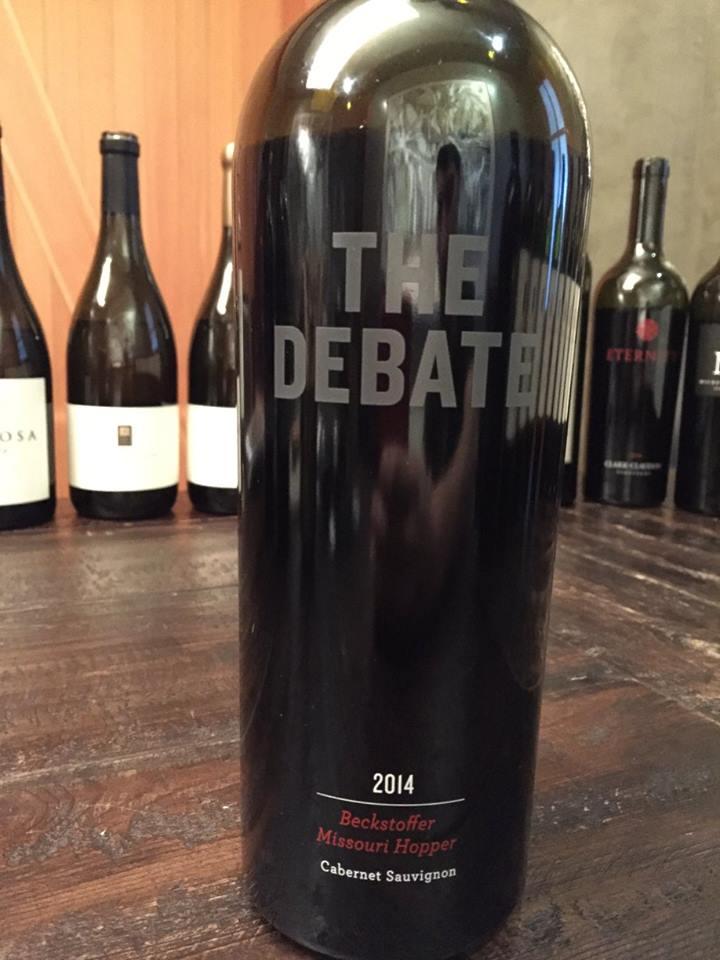 The Debate – Beckstoffer Missouri Hopper – Cabernet Sauvignon 2014 – Napa Valley