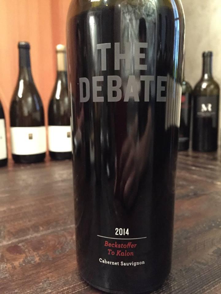 The Debate – Beckstoffer To Kalon Cabernet Sauvignon 2014 – Napa Valley