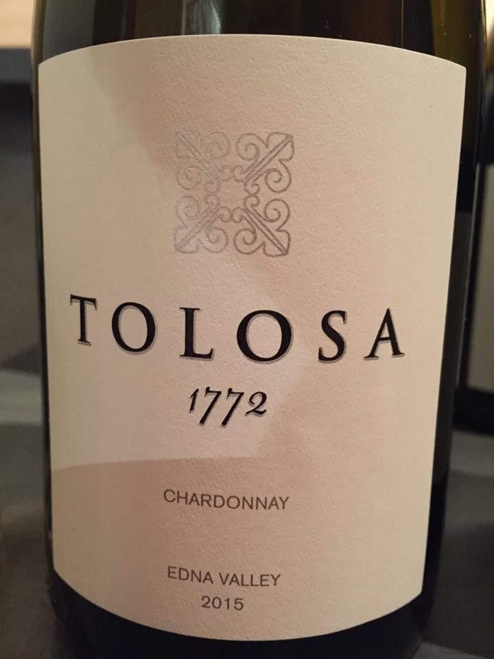Tolosa 1772 – Chardonnay 2015 – Edna Valley