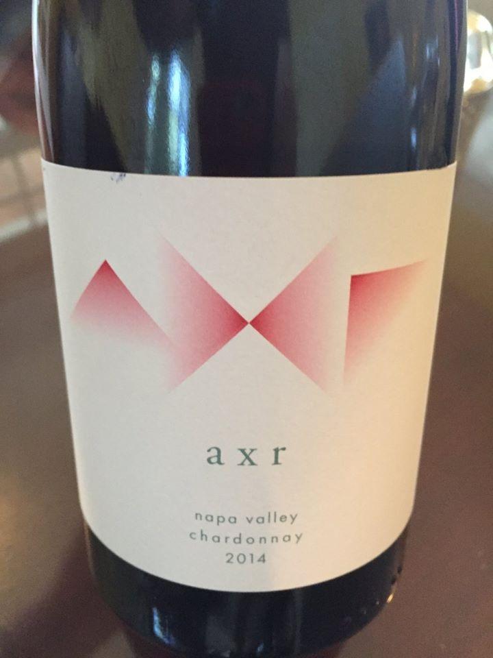 AXR – Chardonnay 2014 – Napa Valley