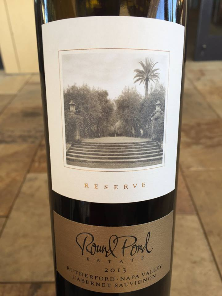 Round Pond Estate – Cabernert Sauvignon 2013 Reserve – Rutherford – Napa Valley