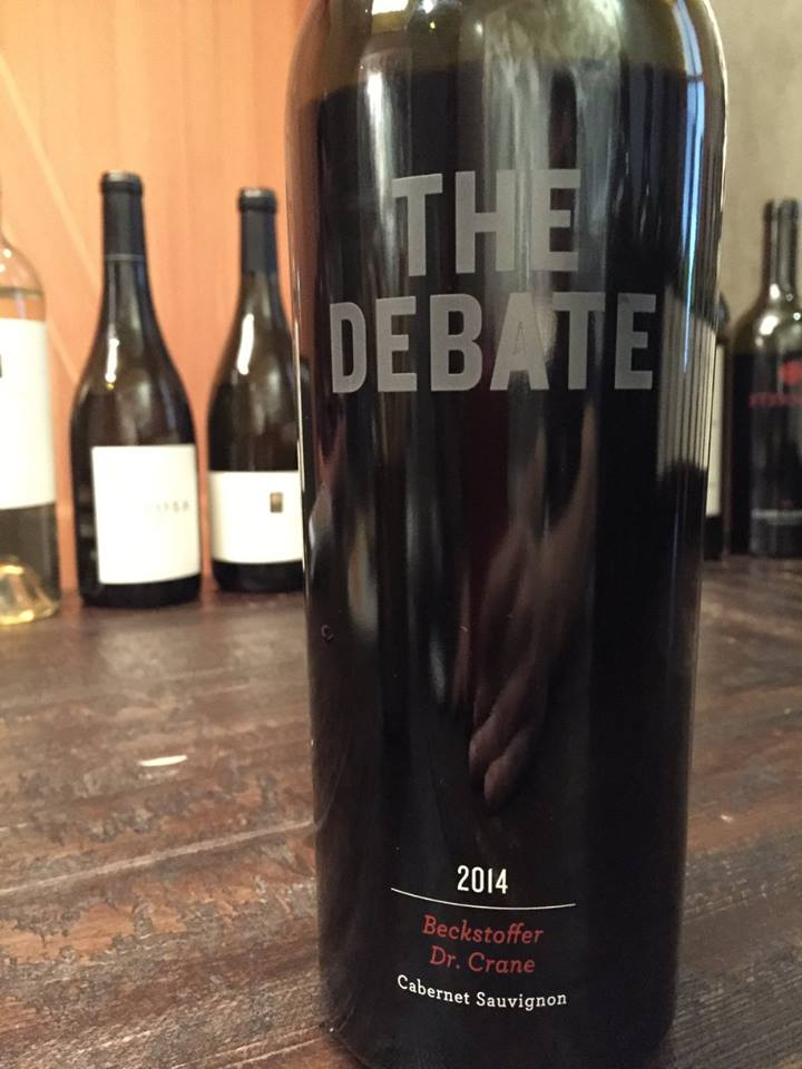 The Debate – Beckstoffer Dr. Crane – Cabernet Sauvignon 2014 – Napa Valley