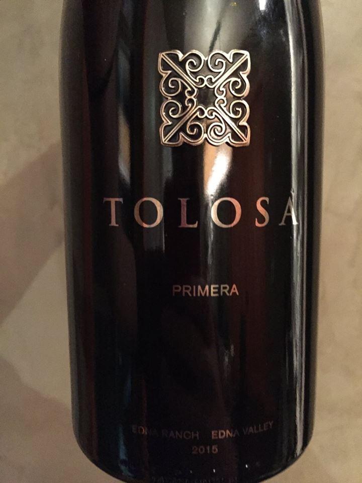 Tolosa – Primera Pinot Noir 2015 – Edna Ranch – Edna Valley