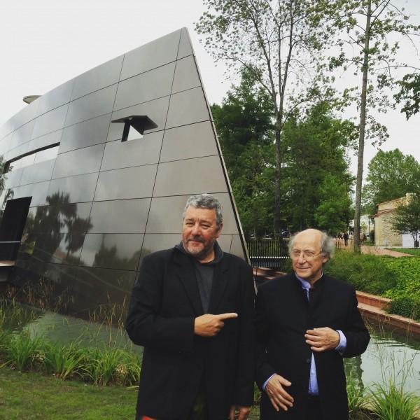 Inauguration du nouveau chai de château Les Carmes Haut Brion