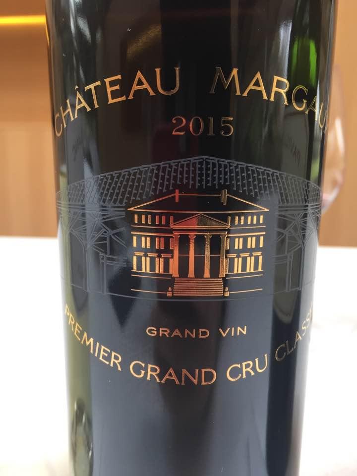 Château Margaux 2015 – Margaux, 1er Cru Classé