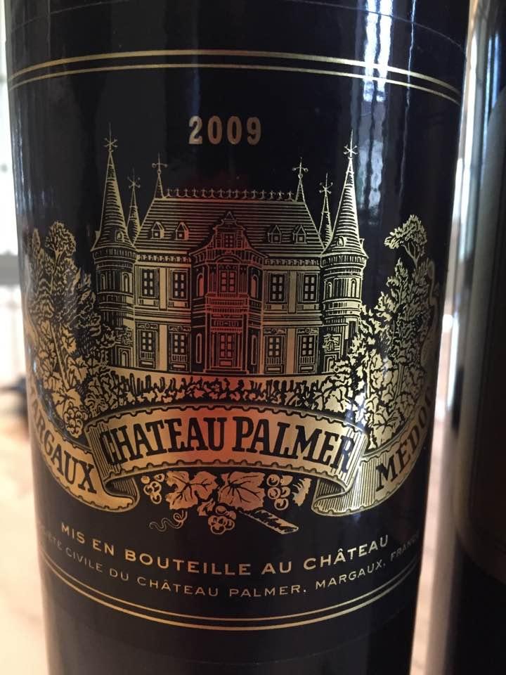 Château Palmer 2009 – Margaux, 3ème Cru Classé