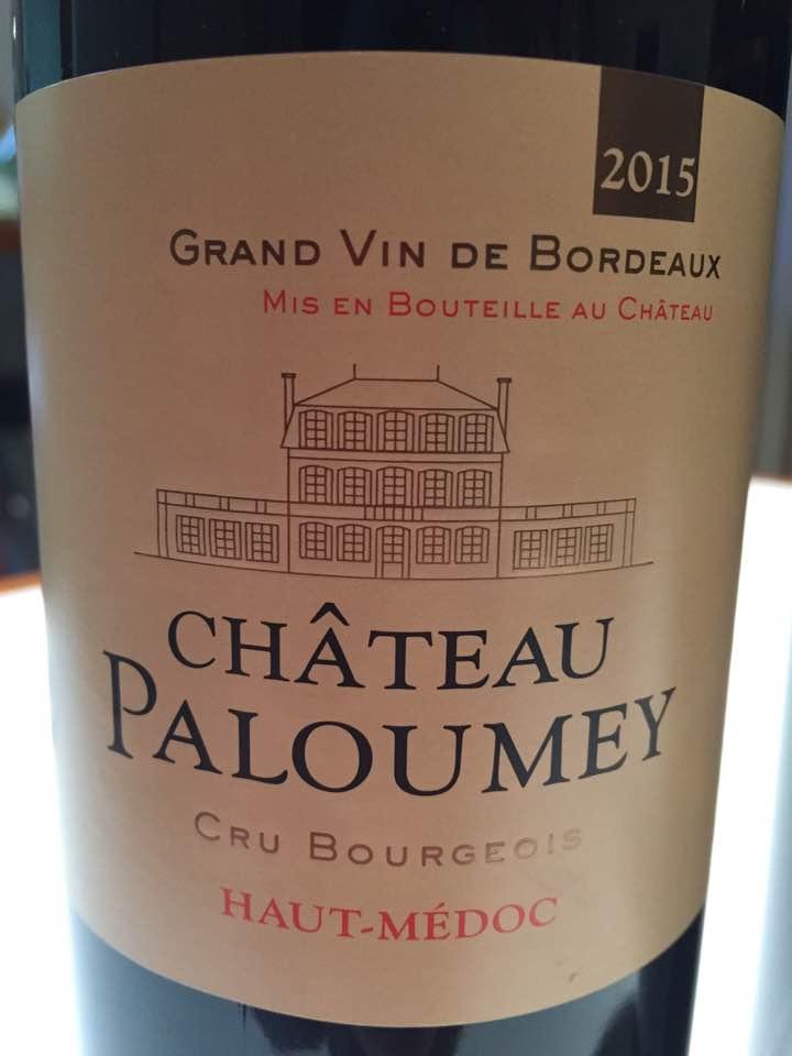 Château Paloumey 2015 – Haut-Médoc – Cru Bourgeois