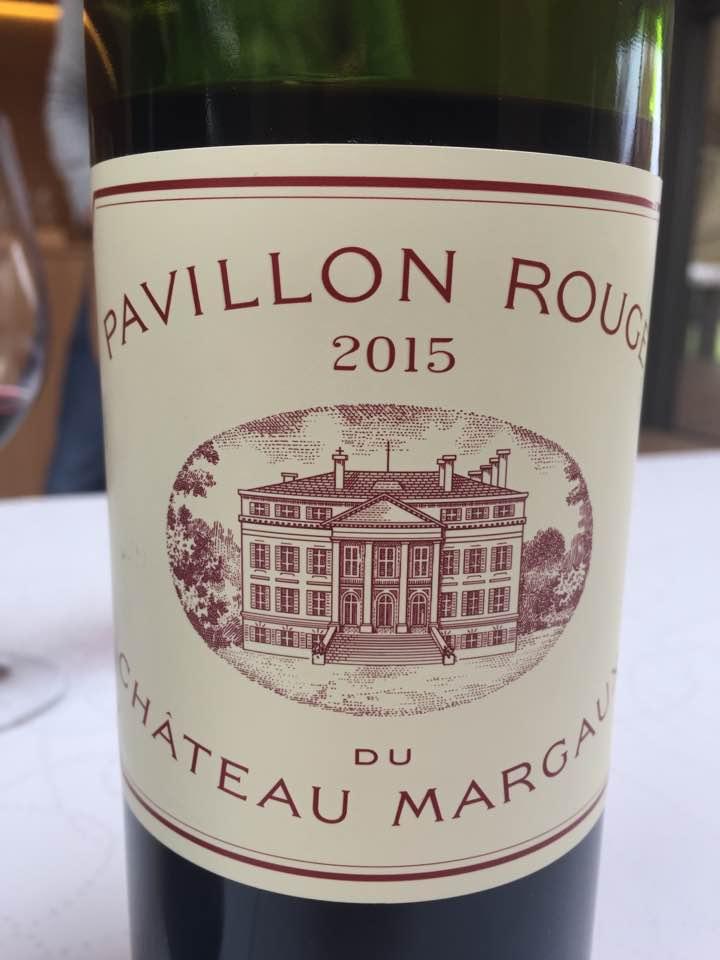 Pavillon Rouge du Château Margaux 2015 – Margaux
