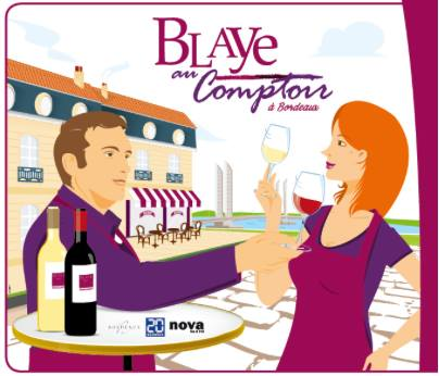 8th EDITION of « BLAYE AU COMPTOIR BORDEAUX »