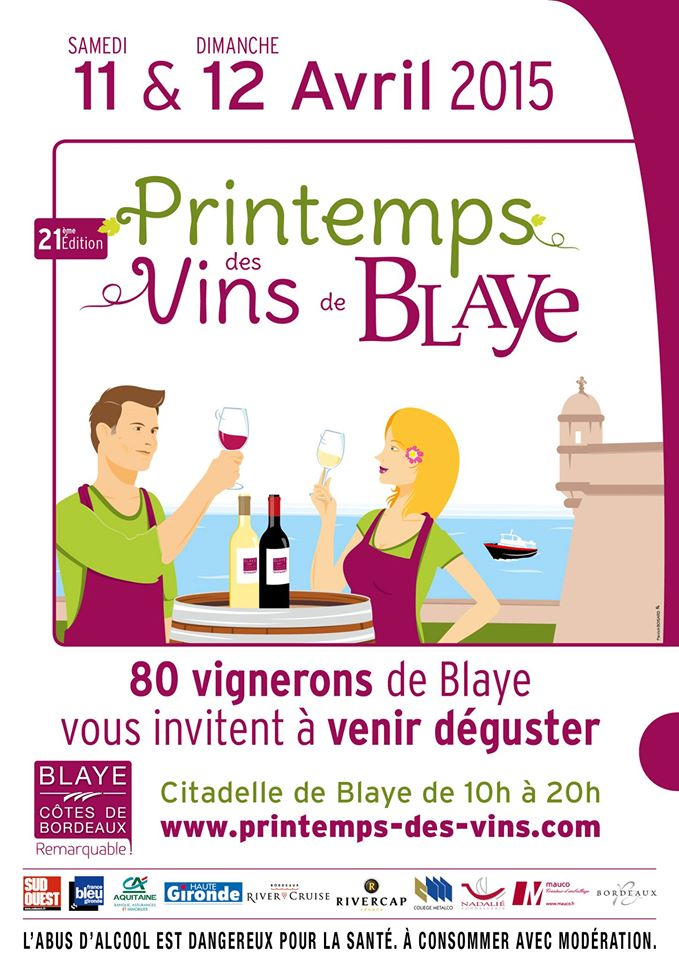 Printemps des vins de Blaye 2015