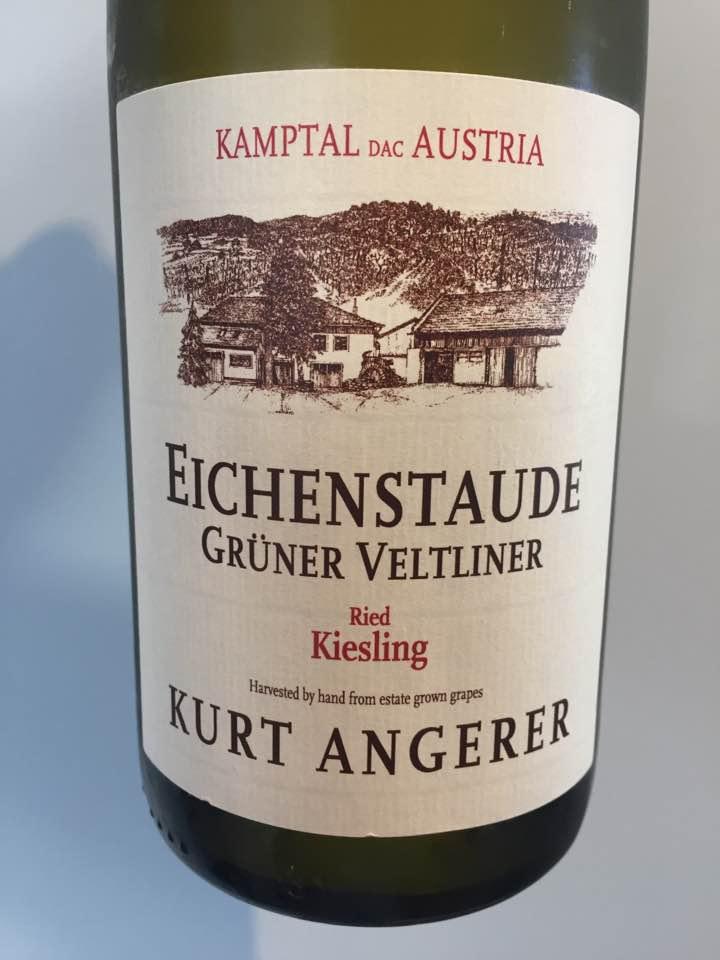 Kurt Angerer – Eichenstaude Grüner Veltliner 2016 Ried Kiesling – Kamptal DAC