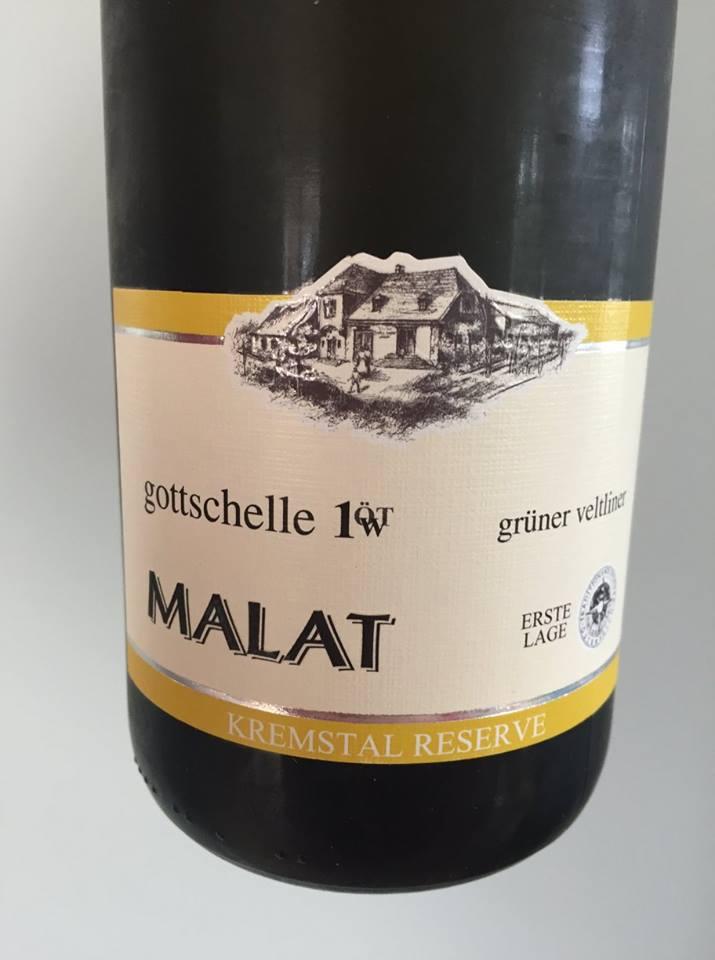 Malat – Grüner Veltliner 2009 – Gottschelle 1 ÖT.W Erste Lage – Kremstal Reserve DAC