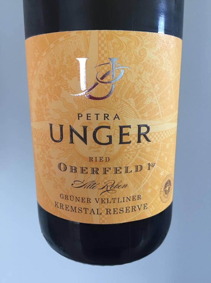 Petra Unger – Grüner Veltliner 2016 Alte Reben – Oberfeld 1.ÖTW. – Kremstal Reserve DAC