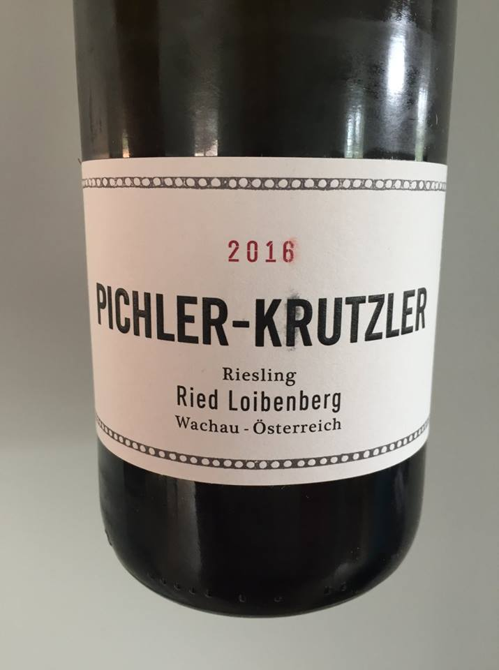 Pichler-Krutzler – Riesling 2016 – Ried Loibenberg – Wachau