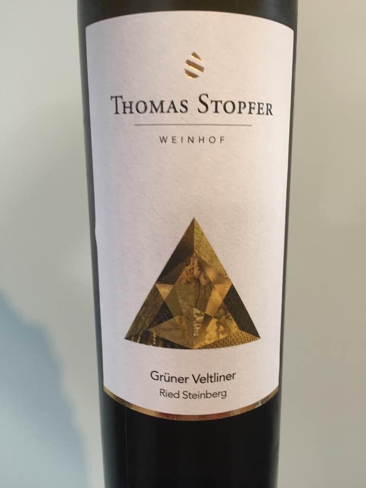 Thomas Stopfer – Grüner Veltliner 2017 Ried Steinberg – Wagram