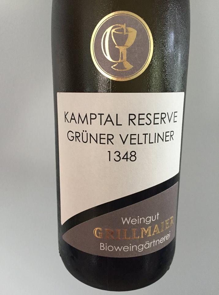 Weingut Grillmaier – Grüner Veltliner 1348 – Kamptal Reserve DAC