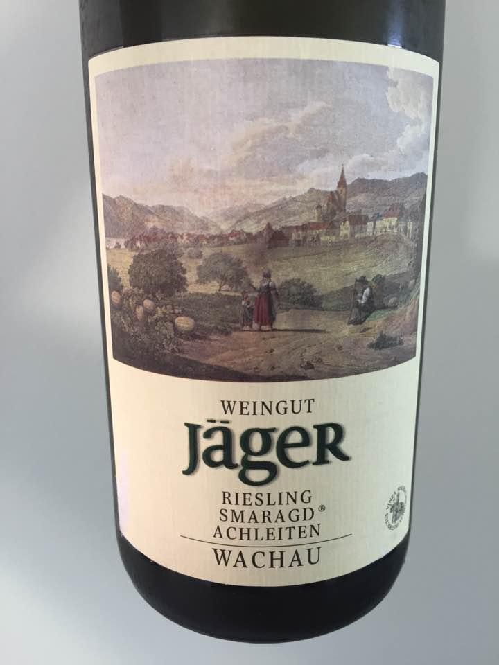 Weingut Jäger – Riesling Smaragd 2016 Ried Achleiten – Wachau