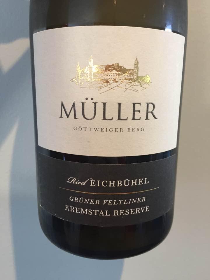 Müller – Grüner Veltliner 2016 Ried EichBühel – Kremstal Reserve DAC