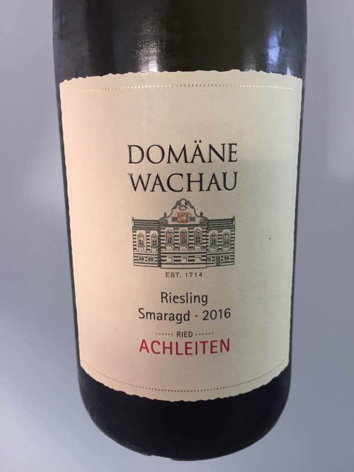 Domäne Wachau – Riesling Smaragd 2016 – Ries Achleiten – Wachau