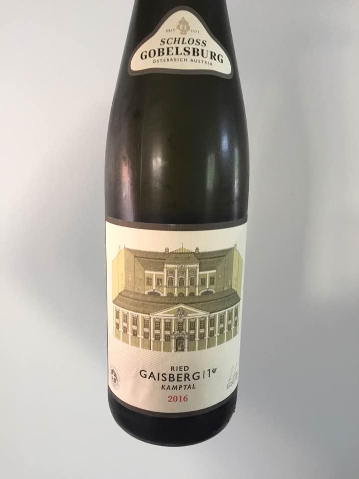 Schloss Gobelsburg – Riesling 2016 Ried Gaisberg 1 ÖT.W – Kamptal