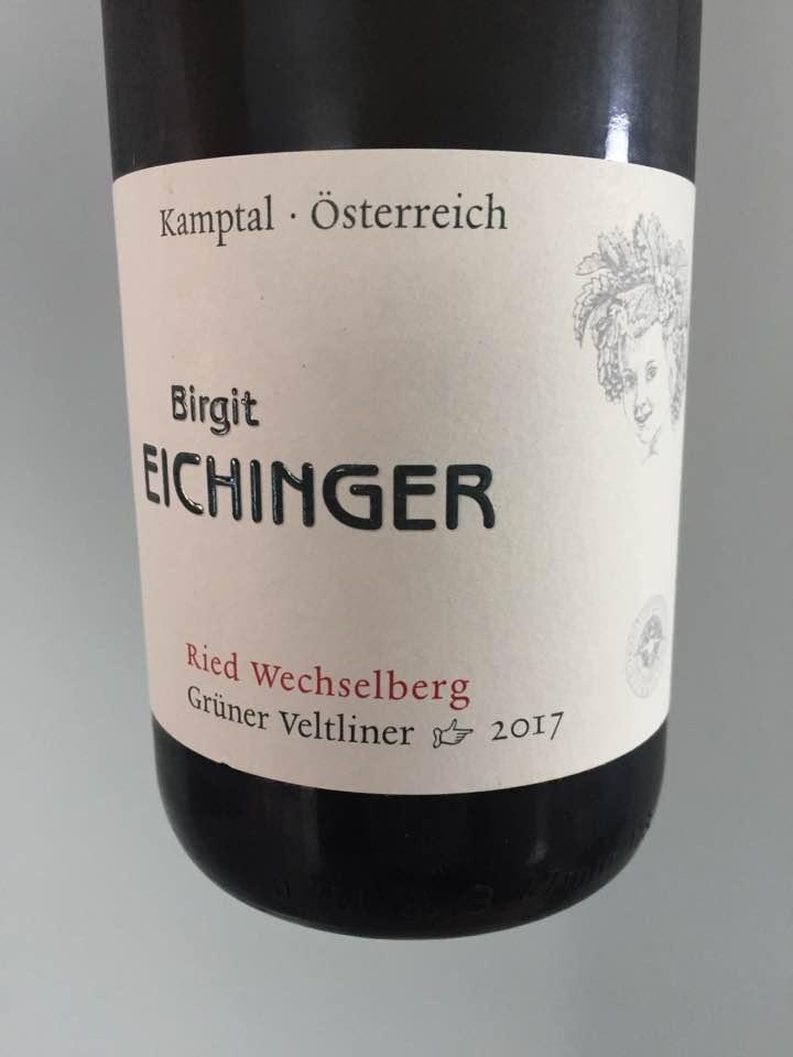 Birgit Eichinger – Grüner Veltliner 2017 Ried Wechselberg – Kamptal