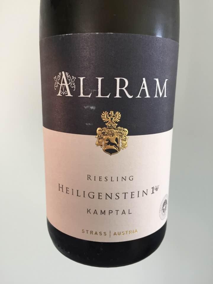 Allram – Riesling 2008 Heiligenstein 1ÖT.W – Kamptal Dac Reserve